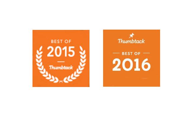 Best of Thumbtack Badges 2015-2016